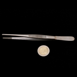 Anatomical tweezers | stainless steel | 15 cm